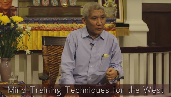 Video: Mind Training Techniques for the West with Thupten Jinpa, Ph.D.