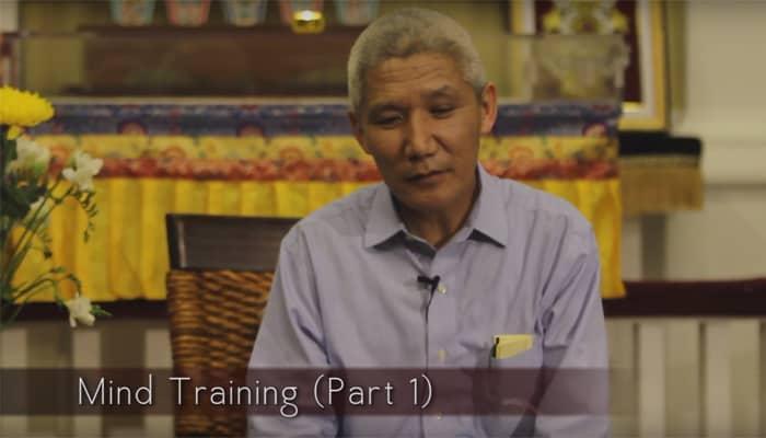 Video: Mind Training with Thupten Jinpa, Ph.D. (Part 1)