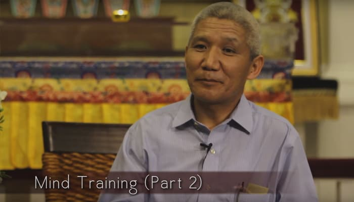 Video: Mind Training with Thupten Jinpa, Ph.D. (Part 2)