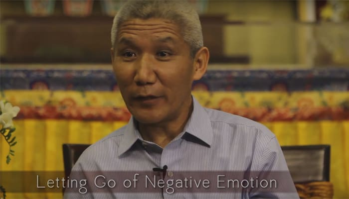 Video: Letting Go of Negative Emotion with Thupten Jinpa, Ph.D.