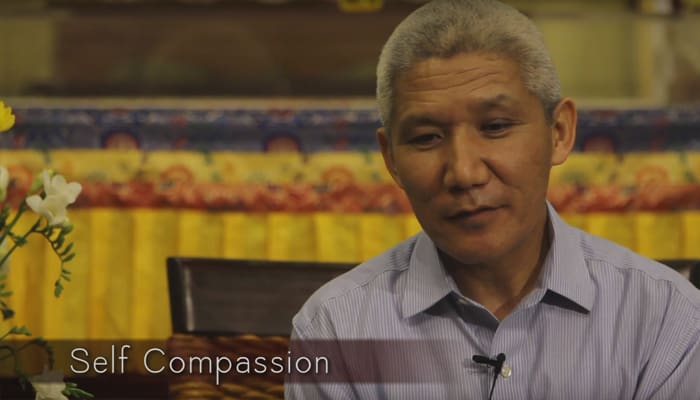 Video: Self Compassion with Thupten Jinpa, Ph.D.