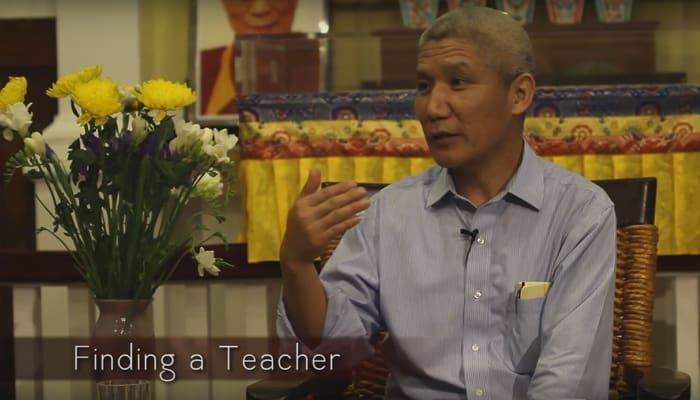 Video: Finding a Teacher with Thupten Jinpa, Ph.D.