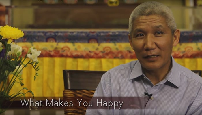 Video: What Makes You Happy with Thupten Jinpa, Ph.D.