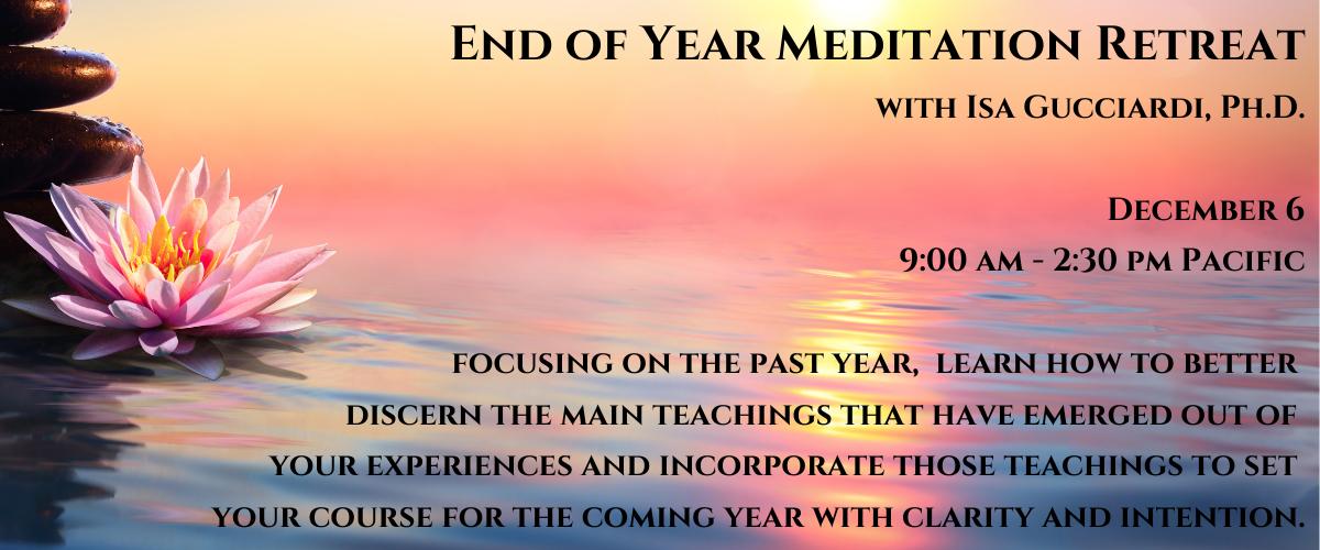 Meditation Retreat December