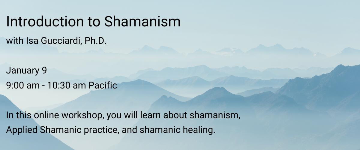 Intro to Sham Jan 2020