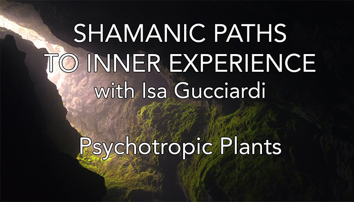 Video: Shamanic Paths to Inner Experience: Psychotropic Plants